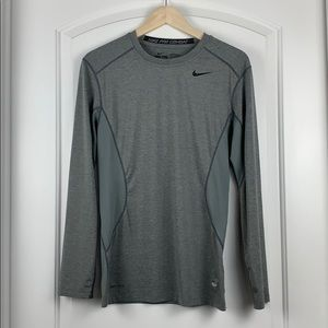 Nike Men's Dri-Fit Pro Combat Fitted Long Sleeve